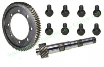 0A4 Crown Wheel & Pinion Repair Kit (62t x 17t Ratio: 3.65) (SRT)
