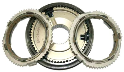 PF6 1st/2nd Gear Synchro Hub (with Rings)